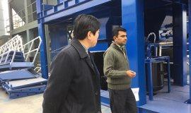 الزبائن الباكستانى زيارة مصنعنا